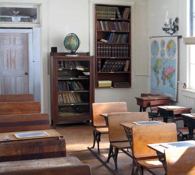 interior view of North Grove School